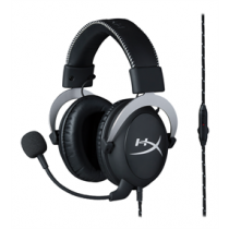 HyperX Cloud Pro Gaming Headset, 53mm Item, Memory Foam Cups, In-Line Volume Control & Microphone Mute, Silve KING-2378 / HX-HSCL-SR/NA