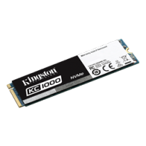 Kingston KC1000 NVMe M.2 SATA SSD, 960GB SKC1000/960G / KING-2386