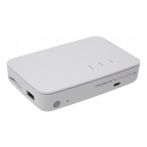 SD kortelių skaitytuvas Kingston MobileLite Wireless G3 1x RJ45, baltas / KING-2394