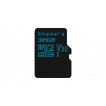 Atminties kortelė Kingston Canvas Go microSDHC, 32GB, juoda / KING-2602