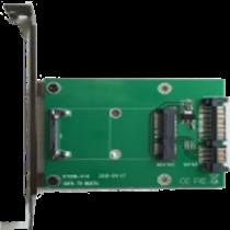 mSATA į SATA adapterio kortelė, 22 kontaktų SATA DELTACOIMP žalia / KT006A