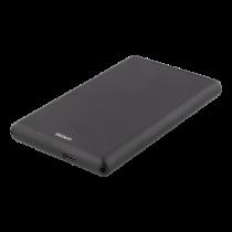 """HDD dėžutė DELTACO 2.5"""", USB-C SATA/SSD, USB 3.1, juoda / MAP-GD48C"""