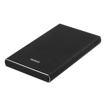 "HDD dėžutė DELTACO SATA 2.5"" USB 3.1, USB-C, juoda / MAP-GD49C"