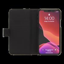 DELTACO telefono dėklas / piniginė iPhone 11 Pro Max, nuimama nugarėlė MCASE-W19IP65BLK