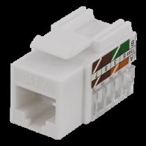 UTP Cat6 kabelių jungtis, neekranuota, 90 laipsnių, 22-26AWG DELTACO / MD-111