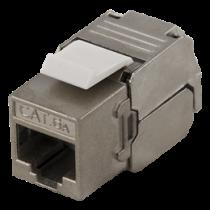 """FTP Cat6a """"Keystone"""" jungtis be įrankių DELTACO MD-112"""