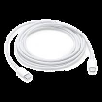 Apple USB C krovimo kabelis, USB-C ha - USB-C ha, 2m, baltas / MLL82ZM/A