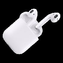 Apple iPhone AirPods, bevielės ausinės, Bluetooth, baltos MMEF2ZM/A