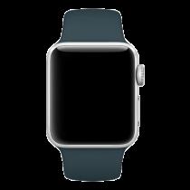 Apple Watch Bracelet 38mm, small / medium, medium / large, petroleum blue MQUU2ZM/A