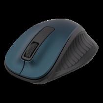 Bevielė optinė pelė DELTACO 1200 DPI, mėlyna / MS-708
