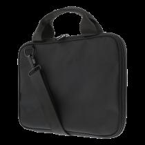 """DELTACO nešiojamojo kompiuterio dėklas, skirtas nešiojamiesiems kompiuteriams iki 12 """", raštuotas nailonas, juodas"""