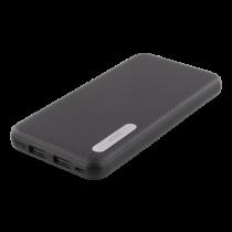 Išorinė baterija DELTACO 10000mAh, 2.1A, 37Wh, juoda / PB-1063