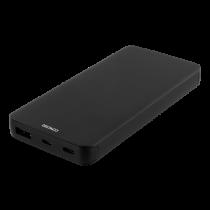 DELTACO 10.000 mAh išorinė Li-Po baterija su USB-C, juoda / PB-830