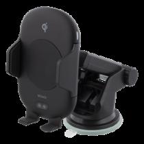 """Greitai įkraunantis belaidis įkroviklis su infraraudonųjų spindulių jutikliu, 10W automatiškai įsijungiantis ir išsijungiantis, ventiliatorius """"Qi"""" sertifikuotas DELTACO / QI-1031"""