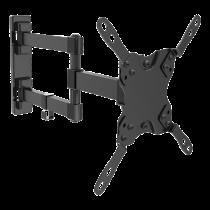 """Laikiklis Qnect 15""""-40"""", max 20kg., VESA 75x75-200x200, juodas / QNE-1000"""