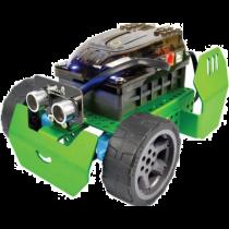 Programuojamas robotas RoboBloq valdomas telefonu, žalias / Q-Scout
