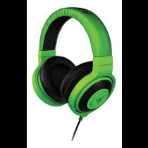 Razer Kraken, ear-ear headphones for music and gaming, 1.3m, 3.5mm, green / black RZ12-00870100-R3M1 / RAZ-145