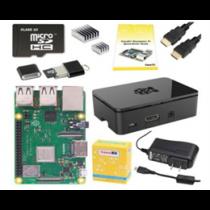 """,,Raspberry Pi 3 B + Starter"""" rinkinys, 16 GB atminties kortelė (NOOBS), maitinimo šaltinis,  HDMI kabelis, vadovas CANAKIT / RPI-3BPLUSTARTER16GB"""
