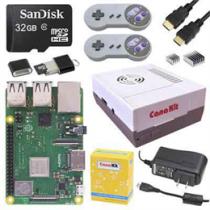 """,,Retro Gaming"""" rinkinys, Raspberry Pi 3 B +, """"retro"""" valdymo pulteliai ir kiti priedai CanaKit / RPI-RETROKIT32GB"""