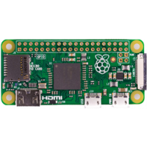 Atskiras GPIO kontaktas, microSD Raspberry Pi Zero žalia / RPI-ZEROH