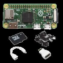 "Kompiuteriukas CanaKit ""Raspberry Pi Zero W"" su priedais / RPI-ZEROSTART"
