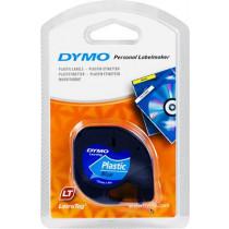LetraTag, plastikinė juosta, mėlyna, 12mm, 4m - 91225 DYMO / S0721700