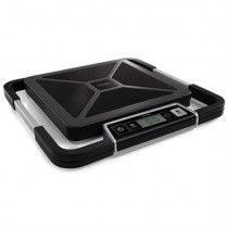 DYMO S100 package scale, digital display, USB, 100kg, black / silver S0929030