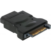 Adapteris DELTACO 15-pin ATA / SATA-S6