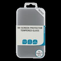 Plokščias skaidrus apsauginis stikliukas  Huawei Y5(2018) 0.33mm / SCRN-1006