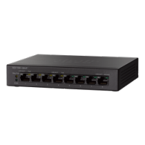 Komutatorius Cisco 8xRJ45 , juodas / SG110D-08HP