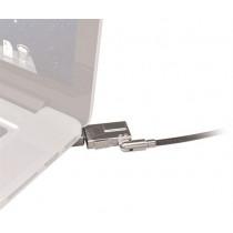 """Apsauginis užraktas Maclocks MacBook Air 11 """", 1.8 m, 2 raktai, sidabrinis / SH-521"""