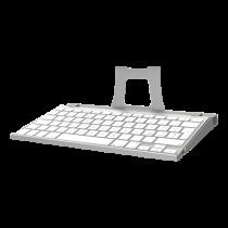 Klaviatūros laikiklis Maclocks Apple, sidabrinis / SH-551
