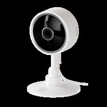 "DELTACO SMART HOME tinklo kamera vidaus,""WiFi"" 2.4GHz, 1080p, IR 10m, 1/4 ""CMOS,"" microSD "", balta  SH-IPC02"