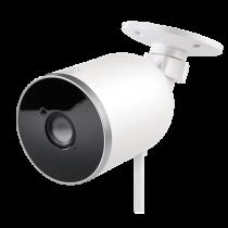 """DELTACO SMART HOME tinklo kamera, skirta naudoti lauke, IP65, 1080p, """"WiFi"""" 2.4GHz, IR 10m, 1 / 2.7 """"CMOS,"""" microSD """", balta SH-IPC04"""