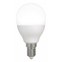 DELTACO SMART HOME LED lempa, E14, WiFI 2.4GHz, 5W, 470lm, pritemdoma, 2700K-6500K, 220-240V, balta SH-LE14G45W