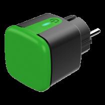 "DELTACO SMART HOME lauko kištukas, ""WiFi"", IP44, 1xCEE 7/3, 13A, juodas / žalias SH-OP01"