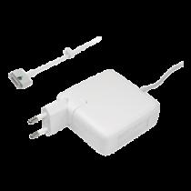 "2 85W kintamosios srovės adapteris ""Apple Macbook Pro"", 20V, 4.25A, baltas  • Išėjimas: 120V, 4,25A  Magsafe / SMP-114"