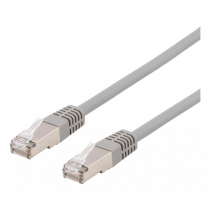 DELTACO U/FTP Cat6A patch cable, 35m, 500MHz, Delta, LSZH, grey