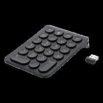 Bevielė skaičių klaviatūra DELTACO  2.4GHz RF, juoda / TB-125
