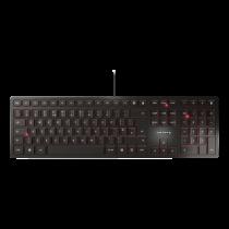 CHERRY KC 6000 SLIM klaviatūra, SX technologija, JAV išdėstymas  JK-1600EU-2 / TB-651-US