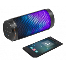 Bluetooth kolonėlė Technaxx  LED light, 2000mAh, juoda / TECH-017