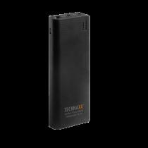 Išorinė baterija Technaxx 15000mAh, 2x USB, juoda / TECH-039
