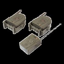 Bevielė apsaugos sistema Technaxx 433 MHz, žalia TX-104, 1P66, 6 Mėn budėjimas, -20 iki + 60 C, Žalia / TECH-054
