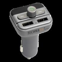 Technaxx FMT900BT, FM transmitter and hands-free for car / truck, gray TEC-4594 / FMT900BT
