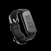 Išmanusis laikrodis, rodo širdies ritmą, žingsnius Trendgeek juodas / TECH-107