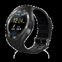 Išmanus laikrodis, mobiliojo telefono funkcija, fitness treniruočių funkcija, microSD Trendgeek juodas / TECH-109