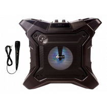 N-Gear The X streetbox, bevielė BT garso ir  šviesos sistema , juoda / THE-X