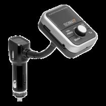 Siųstuvas Technaxx bluetooth, USB-A, pilkas / Trendgeek-06