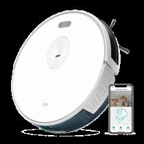 Trifo Ironpie m6 PLUS vakuminis siurblys robotas, su kamera, plovimo funkcija, nuotolinis valdymas, 1800Pa, baltas TRIFO-04 / Trif-M6PLUSW
