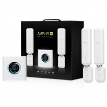 Ubiquiti AmpliFi Home Router, 2x Mesh Points, Plug and Play, Up to 5 Gb / s, White AFI-HD  / UBI-AFI-HD